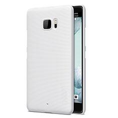 Coque Plastique Rigide Mat pour HTC U Ultra Blanc