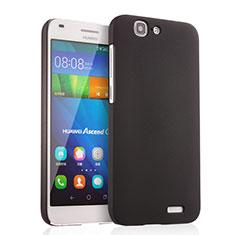 Coque Plastique Rigide Mat pour Huawei Ascend G7 Noir
