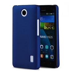 Coque Plastique Rigide Mat pour Huawei Ascend Y635 Bleu