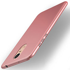 Coque Plastique Rigide Mat pour Huawei Enjoy 6 Or Rose
