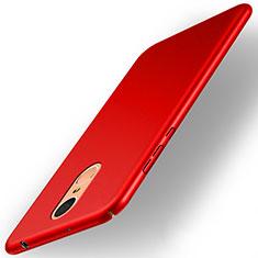 Coque Plastique Rigide Mat pour Huawei Enjoy 6 Rouge