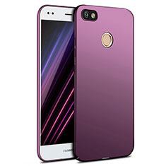 Coque Plastique Rigide Mat pour Huawei Enjoy 7 Violet