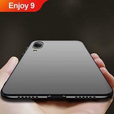 Coque Plastique Rigide Mat pour Huawei Enjoy 9 Noir