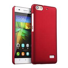Coque Plastique Rigide Mat pour Huawei G Play Mini Rouge