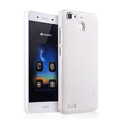 Coque Plastique Rigide Mat pour Huawei G8 Mini Blanc