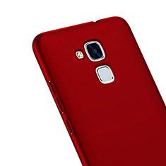 Coque Plastique Rigide Mat pour Huawei GR5 Mini Rouge
