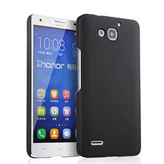 Coque Plastique Rigide Mat pour Huawei Honor 3X G750 Noir