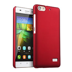 Coque Plastique Rigide Mat pour Huawei Honor 4C Rouge