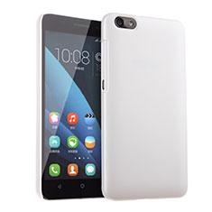 Coque Plastique Rigide Mat pour Huawei Honor 4X Blanc