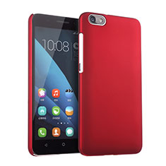 Coque Plastique Rigide Mat pour Huawei Honor 4X Rouge