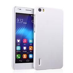 Coque Plastique Rigide Mat pour Huawei Honor 6 Blanc