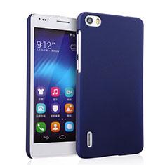 Coque Plastique Rigide Mat pour Huawei Honor 6 Bleu