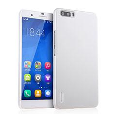 Coque Plastique Rigide Mat pour Huawei Honor 6 Plus Blanc