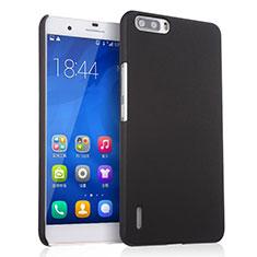 Coque Plastique Rigide Mat pour Huawei Honor 6 Plus Noir