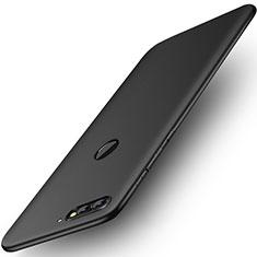 Coque Plastique Rigide Mat pour Huawei Honor 7C Noir