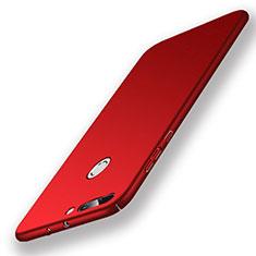 Coque Plastique Rigide Mat pour Huawei Honor 8 Pro Rouge
