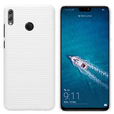 Coque Plastique Rigide Mat pour Huawei Honor 8X Blanc