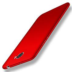 Coque Plastique Rigide Mat pour Huawei Honor Play 5 Rouge