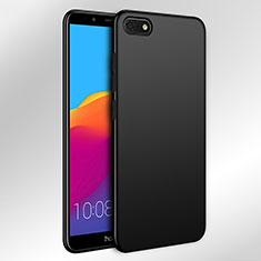 Coque Plastique Rigide Mat pour Huawei Honor Play 7 Noir