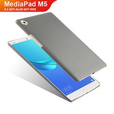 Coque Plastique Rigide Mat pour Huawei MediaPad M5 8.4 SHT-AL09 SHT-W09 Gris