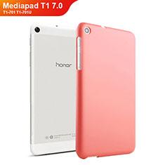 Coque Plastique Rigide Mat pour Huawei Mediapad T1 7.0 T1-701 T1-701U Rouge