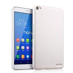 Coque Plastique Rigide Mat pour Huawei MediaPad X2 Blanc