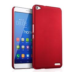 Coque Plastique Rigide Mat pour Huawei MediaPad X2 Rouge