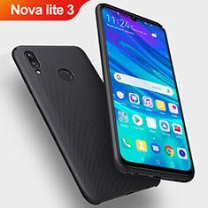 Coque Plastique Rigide Mat pour Huawei Nova Lite 3 Noir