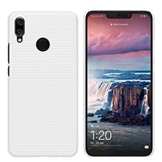 Coque Plastique Rigide Mat pour Huawei P Smart+ Plus Blanc