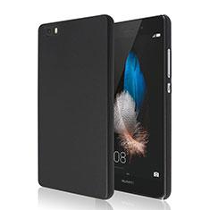 Coque Plastique Rigide Mat pour Huawei P8 Lite Noir