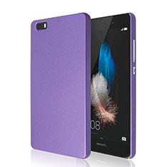 Coque Plastique Rigide Mat pour Huawei P8 Lite Violet