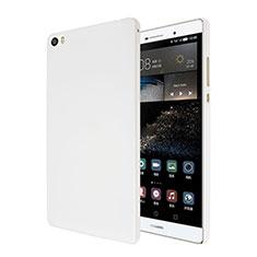 Coque Plastique Rigide Mat pour Huawei P8 Max Blanc