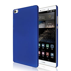 Coque Plastique Rigide Mat pour Huawei P8 Max Bleu