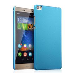 Coque Plastique Rigide Mat pour Huawei P8 Max Bleu Ciel