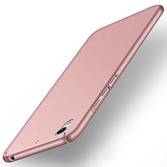 Coque Plastique Rigide Mat pour Huawei Y6 II 5.5 Or Rose