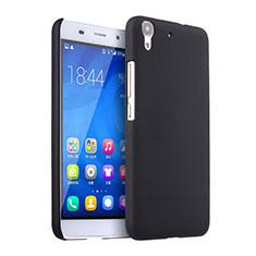Coque Plastique Rigide Mat pour Huawei Y6 Noir