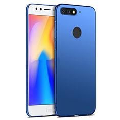 Coque Plastique Rigide Mat pour Huawei Y6 Prime (2018) Bleu