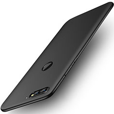 Coque Plastique Rigide Mat pour Huawei Y7 (2018) Noir
