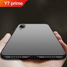 Coque Plastique Rigide Mat pour Huawei Y7 Prime (2019) Noir