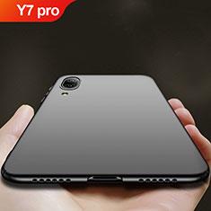 Coque Plastique Rigide Mat pour Huawei Y7 Pro (2019) Noir