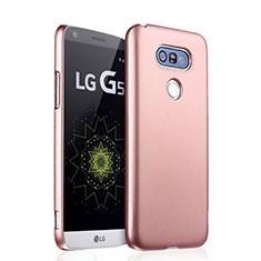 Coque Plastique Rigide Mat pour LG G5 Or Rose