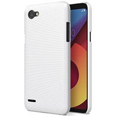 Coque Plastique Rigide Mat pour LG Q6 Blanc