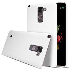 Coque Plastique Rigide Mat pour LG Stylus 2 Plus Blanc