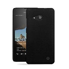 Coque Plastique Rigide Mat pour Microsoft Lumia 550 Noir