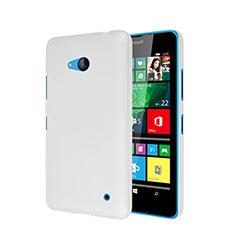 Coque Plastique Rigide Mat pour Microsoft Lumia 640 Blanc