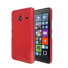Coque Plastique Rigide Mat pour Microsoft Lumia 640 XL Lte Rouge