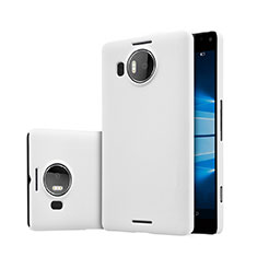 Coque Plastique Rigide Mat pour Microsoft Lumia 950 XL Blanc