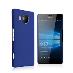Coque Plastique Rigide Mat pour Microsoft Lumia 950 XL Bleu