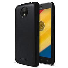 Coque Plastique Rigide Mat pour Motorola Moto C Plus Noir