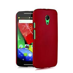 Coque Plastique Rigide Mat pour Motorola Moto G (2nd Gen) Rouge